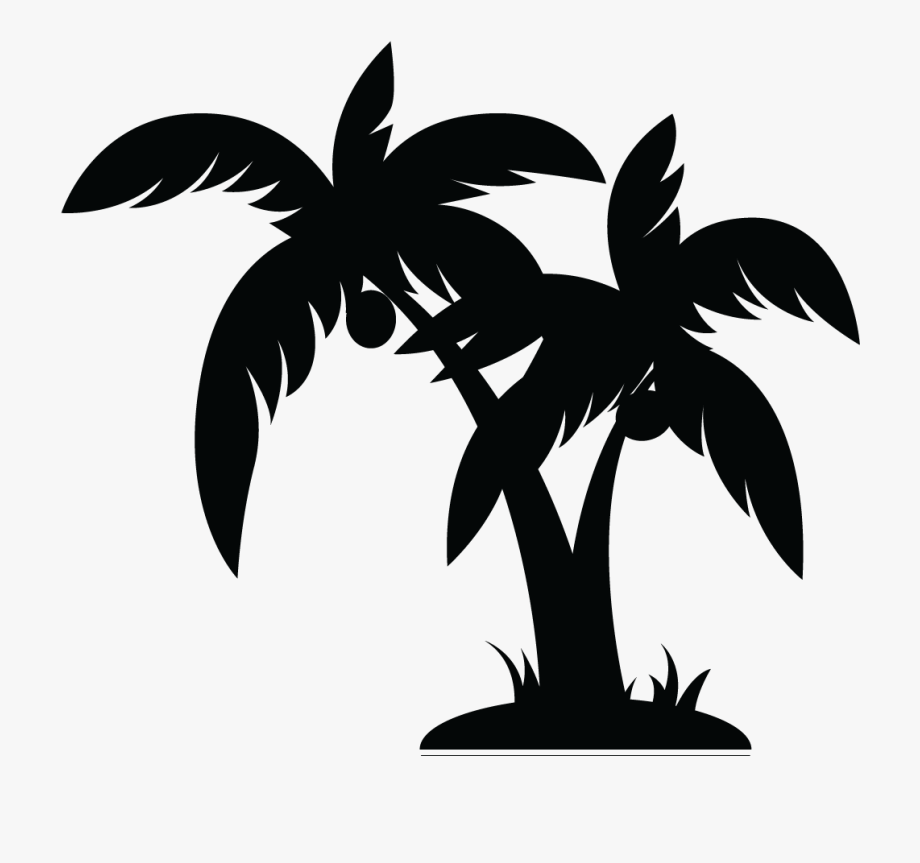 Palm tree clipart free black white clip art royalty free library Palm Tree Clipart Black And White 1 - Palm Tree Vector Png ... clip art royalty free library