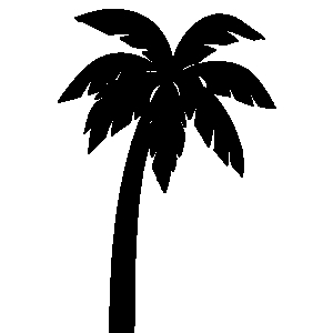 Palmrtree clipart clip black and white stock Palm tree clipart black and white clipartfest 2 – Gclipart.com clip black and white stock