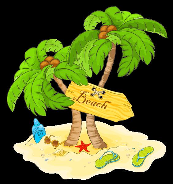 Palm tree and beach clipart svg transparent Gallery - Recent updates svg transparent