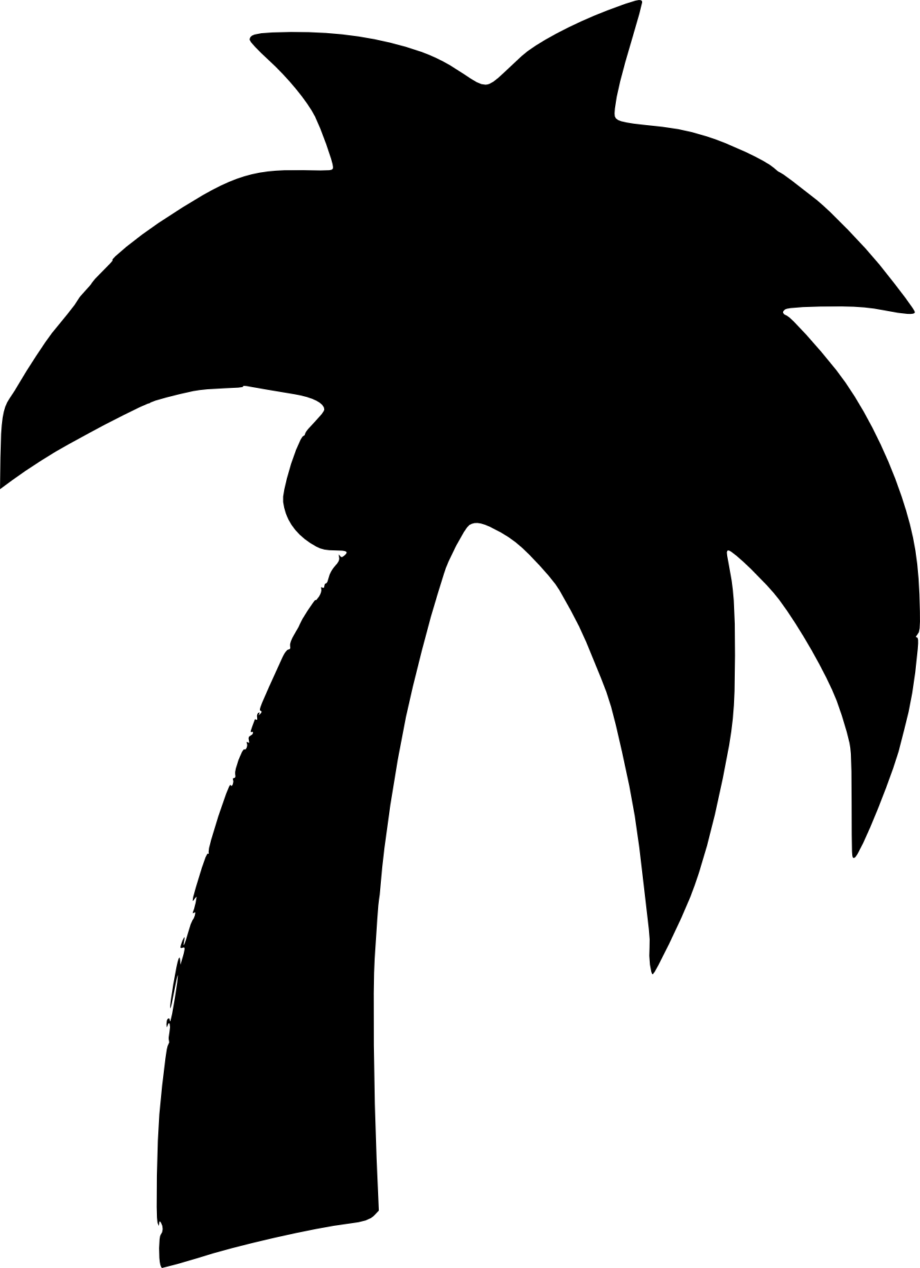 Palm tree sun clipart picture Palm Tree Sunset Clipart | Clipart Panda - Free Clipart Images picture