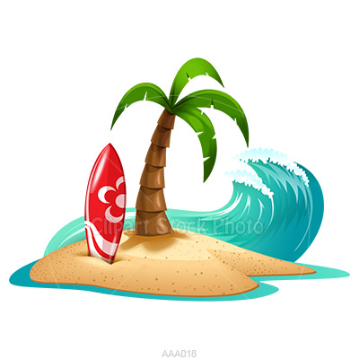 Palm tree and surfboard clipart image black and white download 17 Best images about surfs up on Pinterest | Clip art, Public ... image black and white download