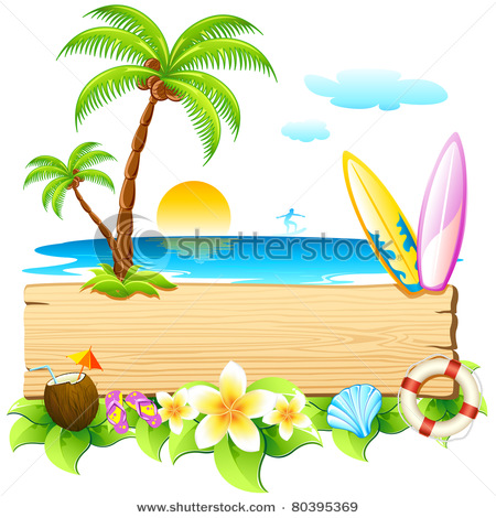 Palm tree and surfboard clipart banner freeuse library Palm Tree Surfboard Clipart - Clipart Kid banner freeuse library