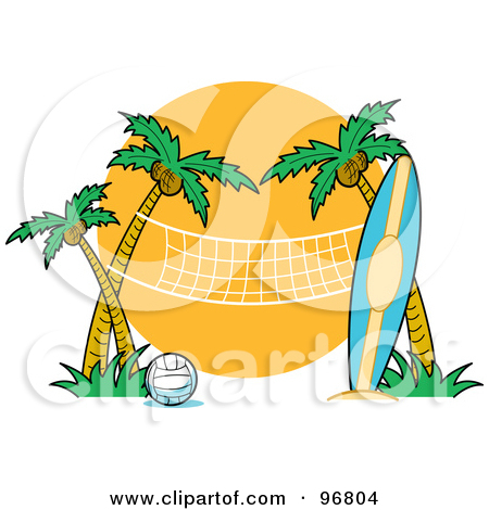 Palm tree and surfboard clipart banner royalty free download Surfboard palm tree clipart - ClipartFest banner royalty free download