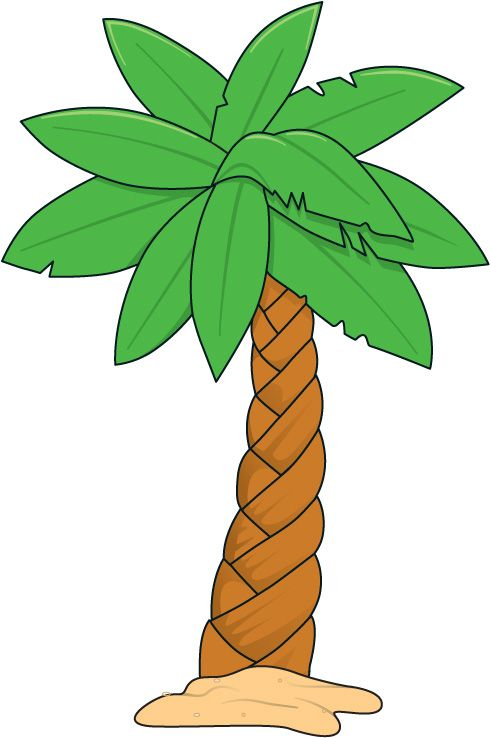 Palm tree and surfboard clipart picture freeuse stock 17 best ideas about Palm Tree Clip Art on Pinterest | Palm tree ... picture freeuse stock