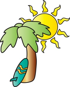 Palm tree and surfboard clipart graphic download Palm Tree Surfboard Clipart - Clipart Kid graphic download