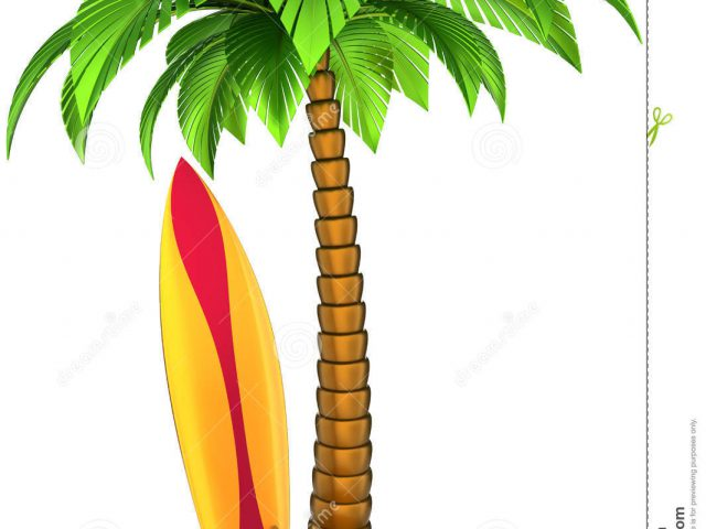 Palm tree and surfboard clipart graphic free download Palm tree surfboard clipart - ClipartFest graphic free download