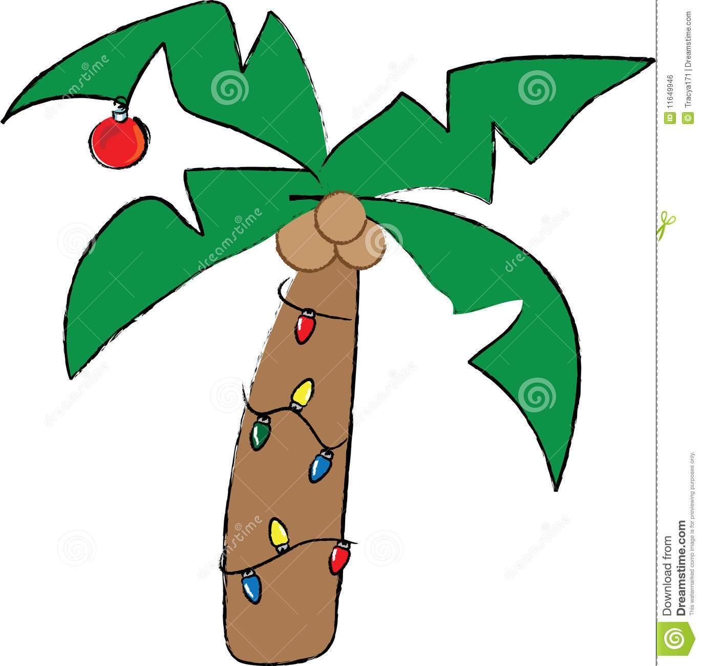 Palm tree christmas tree clipart clipart royalty free Palm tree with christmas lights clipart 4 » Clipart Portal clipart royalty free