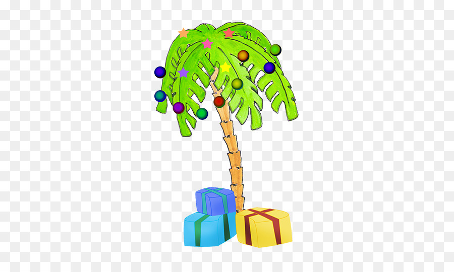 Palm tree christmas tree clipart svg royalty free Christmas Tree Lights clipart - Tree, Gift, Product ... svg royalty free