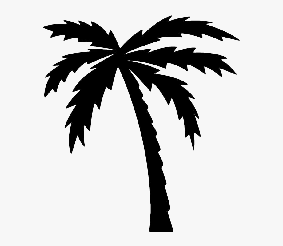 Palm tree clipart black and white free clip art free stock Wits Supplier Onboarding Palm Tree Images, Black And - Black ... clip art free stock