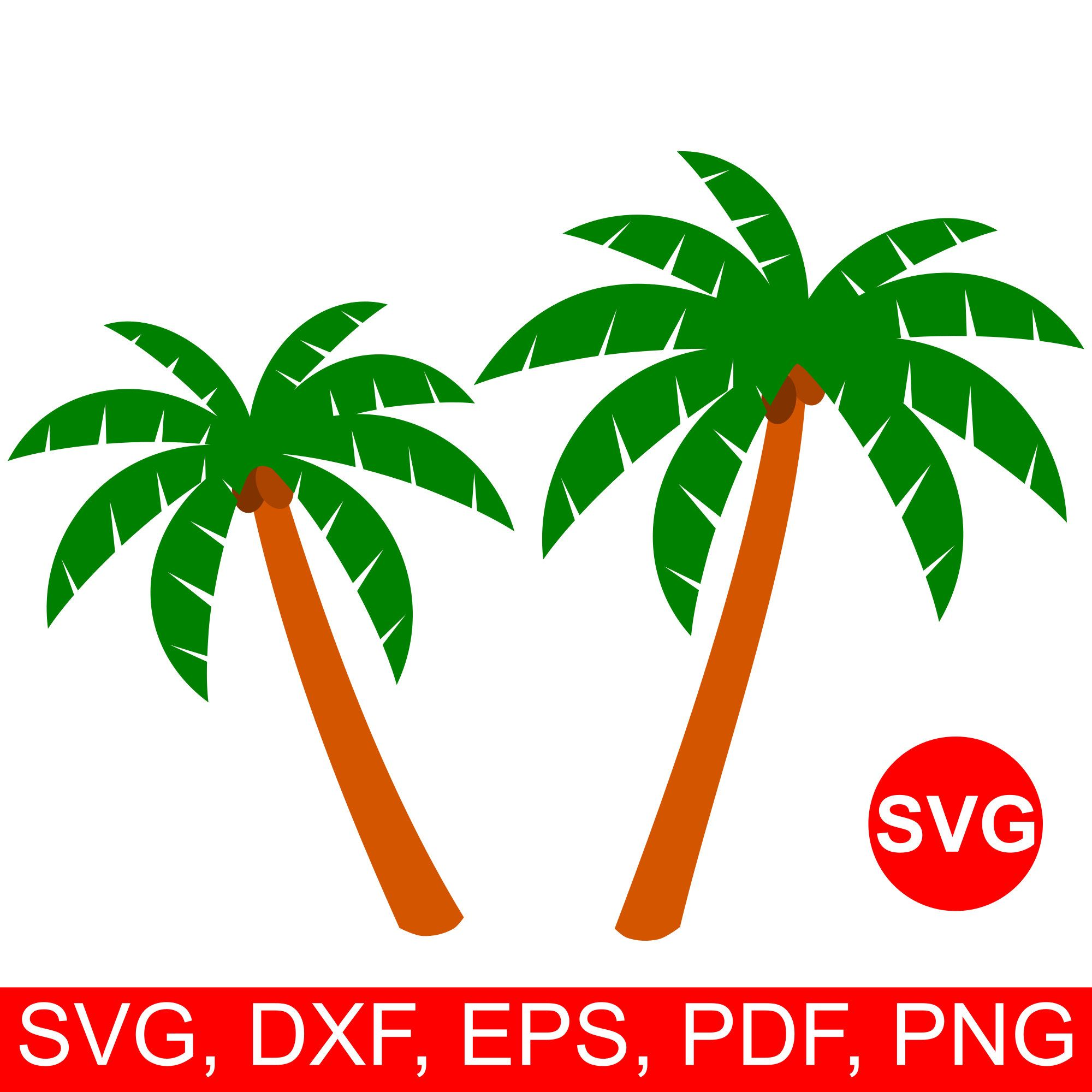 Palm tree clipart for cricut explore air 2 vector transparent download Palm tree SVG fie for Cricut and Silhouette, #summer clipart ... vector transparent download