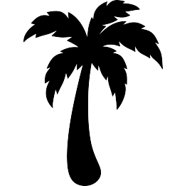 Palm tree clipart for cricut explore air 2 image library download Pin by Regina Calhoun-Bray on Cricut   Palm tree silhouette ... image library download