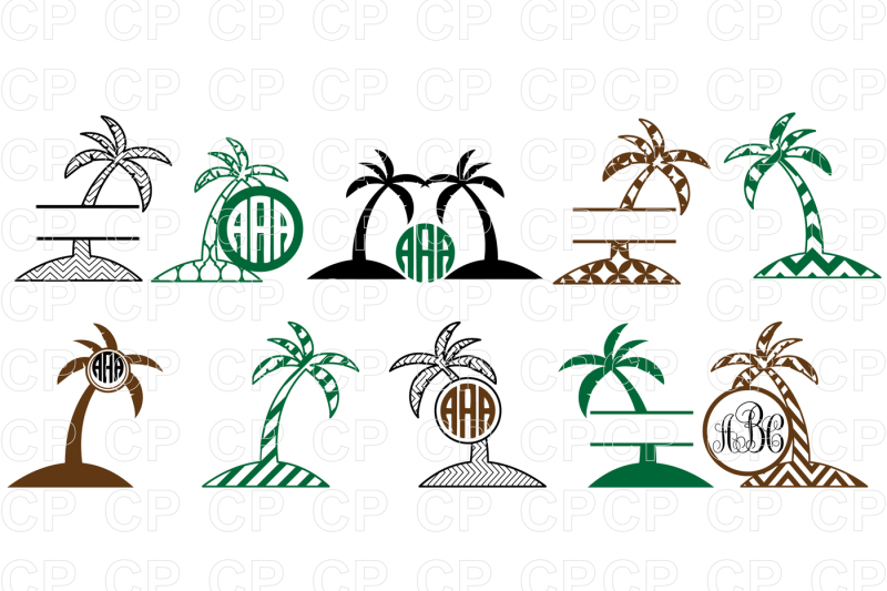 Palm tree clipart for cricut explore air 2 clip art library library Free Palm Tree Bundle SVG Cut Files, Palm Tree Clipart ... clip art library library