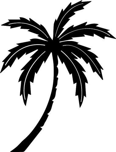 Palm tree clipart for cricut explore air 2 jpg freeuse library Palm Tree   Free SVG Cut Files   Palm tree outline, Svg ... jpg freeuse library