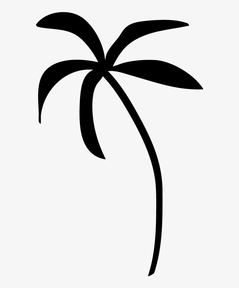 Palm tree clipart free black white clipart freeuse stock Palm Tree Clip Art Transparent Background - Palm Tree Clip ... clipart freeuse stock
