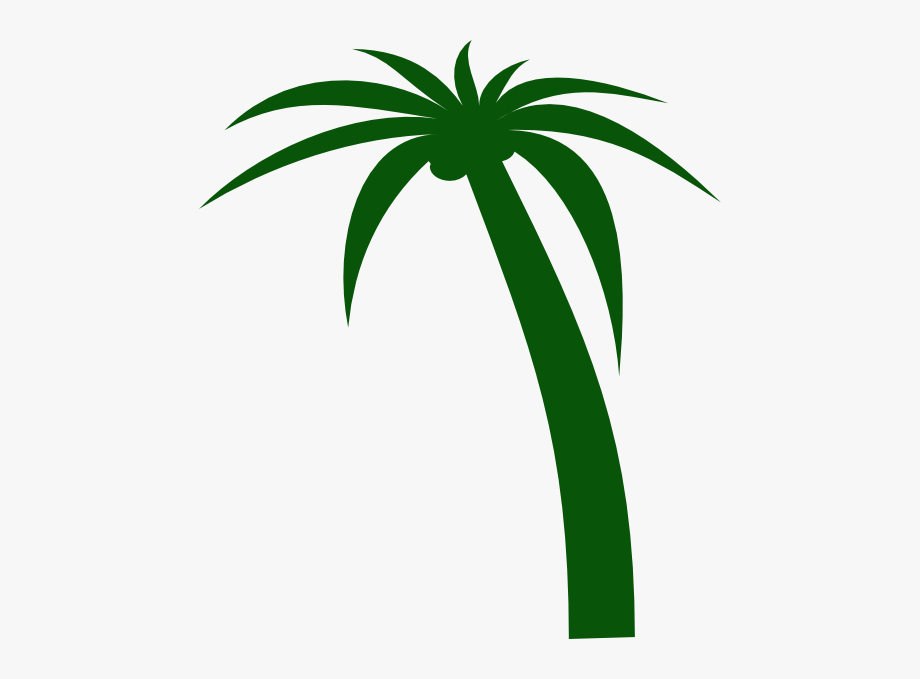 Palm tree clipart vector free graphic black and white library Coconut Tree Clip Art - Coconut Tree Free Vector Png #126496 ... graphic black and white library