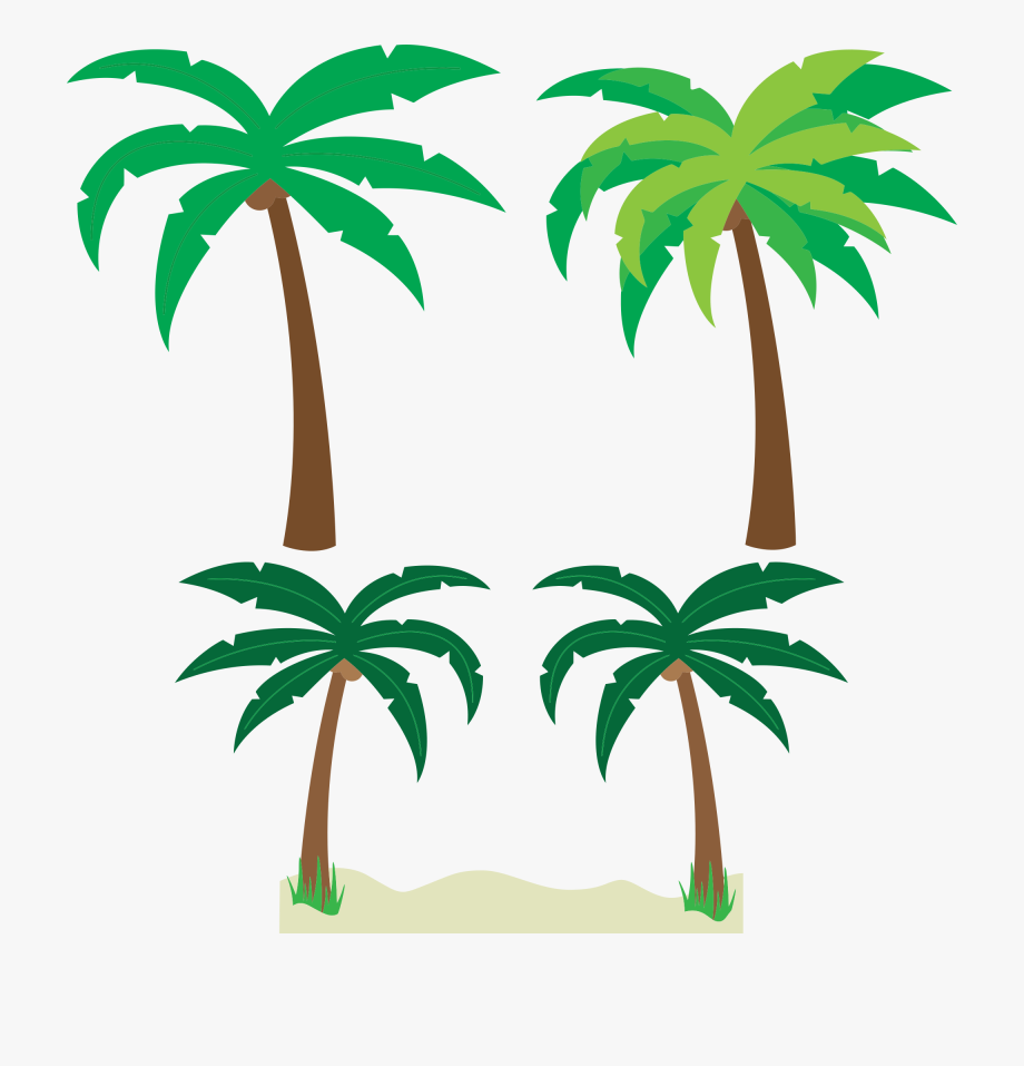 Palm tree clipart vector free banner royalty free download Free Cartoon Palm Trees Clipart Clipart And Vector - Palm ... banner royalty free download