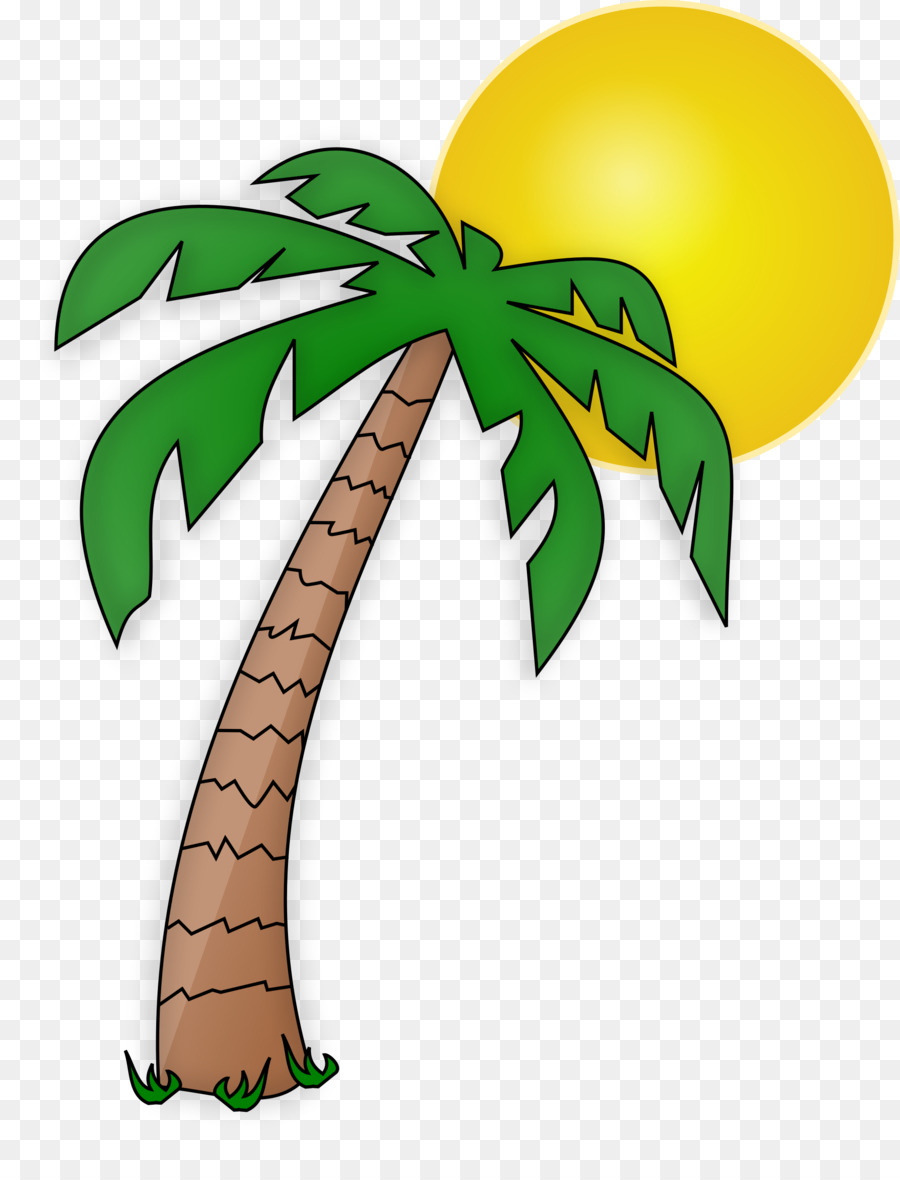 Palm tree drawing clipart clipart download Palm Tree Drawing clipart - Leaf, Tree, transparent clip art clipart download