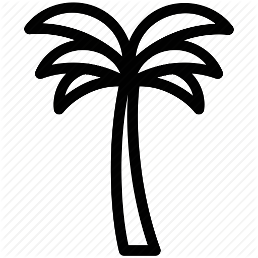Palm tree icon clipart banner library stock Download palm tree icon transparent clipart Palm trees Clip art banner library stock