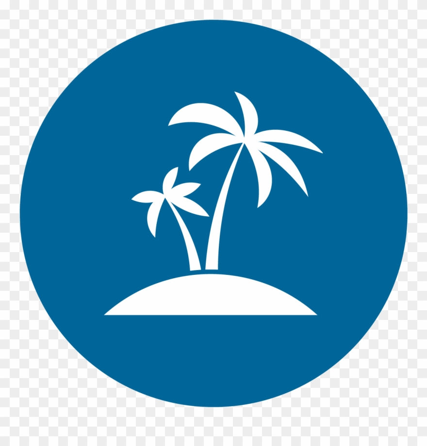 Palm tree icon clipart picture library library Palm Tree Icon Png Download Clipart (#2337342) - PinClipart picture library library