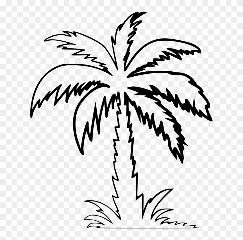 Palm tree icon clipart clip free download Palm Trees Drawing Computer Icons Silhouette - Clipart Palm ... clip free download