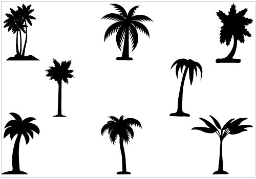 Palm tree silhouette clipart free vector free download Free Palm Tree Silhouette Png, Download Free Clip Art, Free ... vector free download