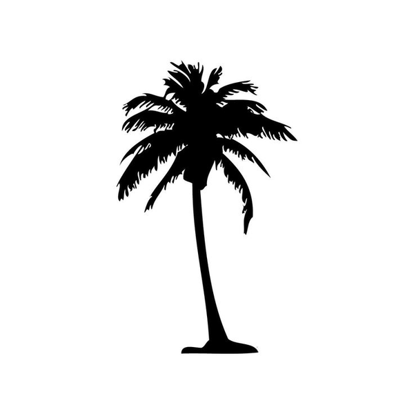 Palm tree silhouette clipart free banner transparent library Free Clipart Palm Tree Silhouette   Free Images at Clker.com ... banner transparent library