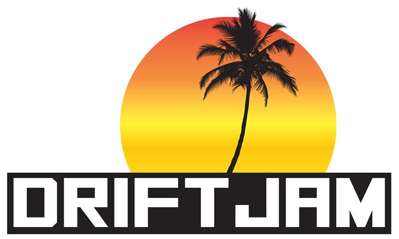 Palm tree sunset clipart image free stock Drift Jam Beach Series Sticker Slap - Sunset Block image free stock