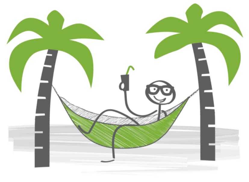 Palm tree with hammock clipart jpg black and white stock palm tree stick man transparent - AMOSO Properties - Best Property ... jpg black and white stock