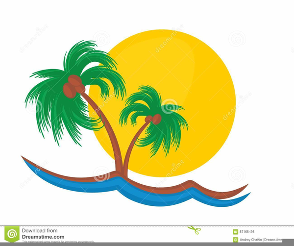 Palm trees sunset clipart clip art Sunset Palm Tree Clipart | Free Images at Clker.com - vector ... clip art
