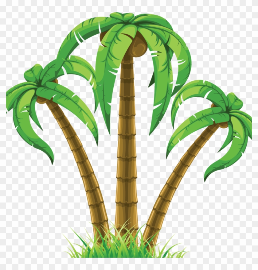 Palmeras en clipart clip black and white stock Palm Tree Clip Art Free Flower Clipart Hatenylo - Palmeras ... clip black and white stock