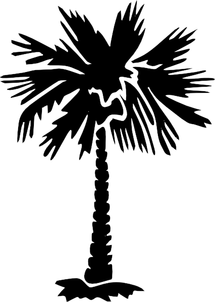 Palmeto clipart royalty free stock Palm Tree Silhouette | Palm Tree Silhouette clip art ... royalty free stock