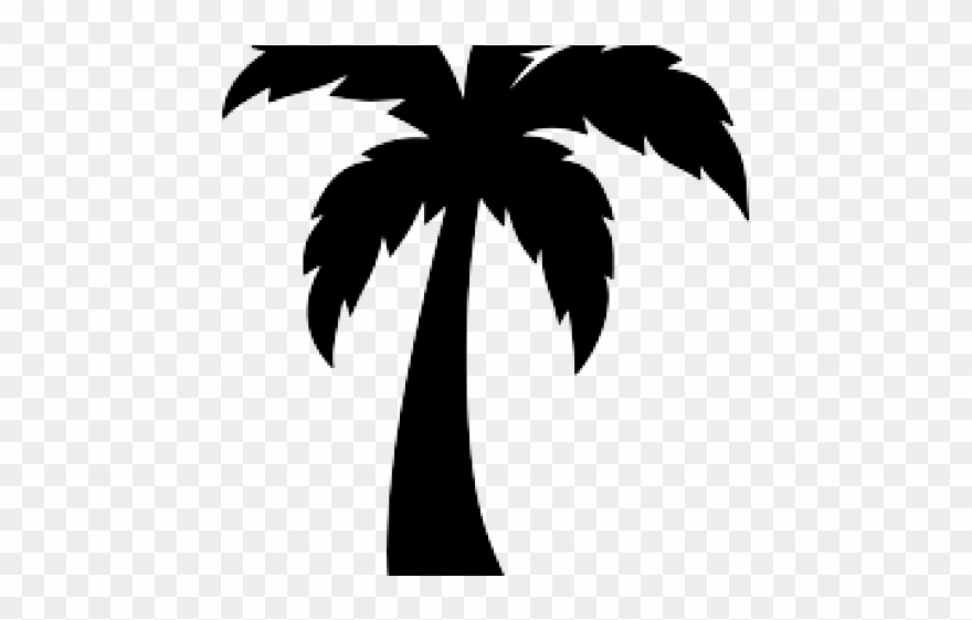 Palmrtree clipart picture transparent download Skyline Clipart Palm Tree - Palm Tree Clipart Easy - Png ... picture transparent download