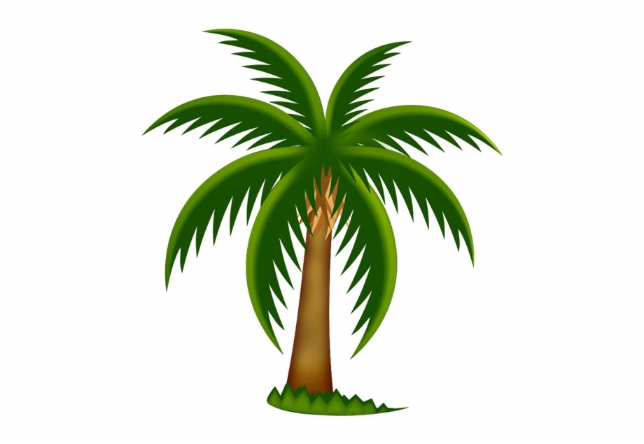 Palms clipart free image freeuse stock Palm Tree Clip Art Printable Free Clipart Image - Date Palm ... image freeuse stock