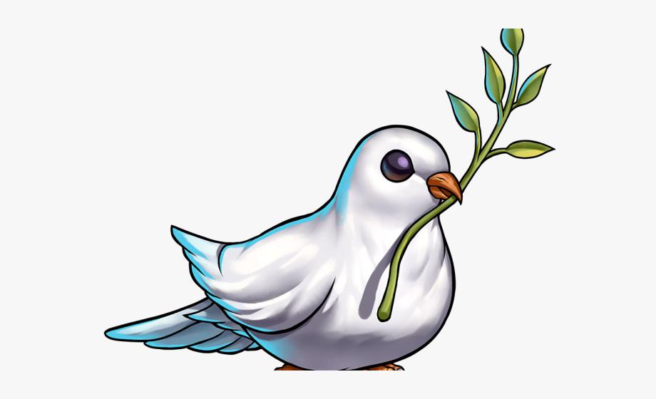 Paloma de la paz clipart jpg free download Pigeon Clipart War And Peace - Paloma De La Paz, Cliparts ... jpg free download