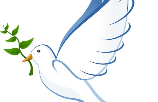 Paloma de la paz clipart image library Por qué la paloma de la paz lleva una rama de olivo? | 40th ... image library