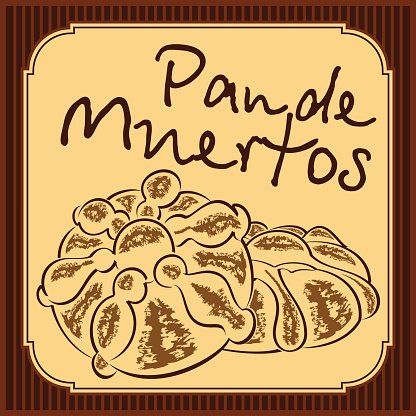 Pan de muerto clipart graphic transparent stock Pan DE Mexican Bread of The Dead Vector premium clipart ... graphic transparent stock