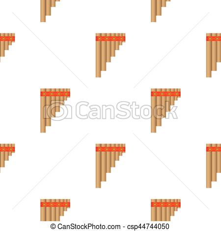 Pan flute clipart png stock Mexican pan flute icon in cartoon style isolated on white background.  Mexico country pattern stock vector illustration. png stock