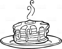 Pancakes clipart black and white svg freeuse Image result for clipart black and white delicious cakes ... svg freeuse