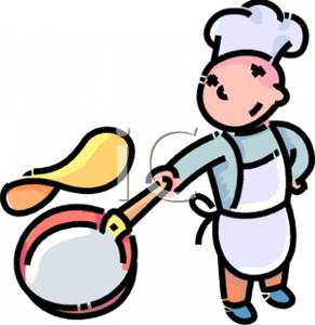 Pancake chef clipart clip art black and white Pancake Chef Clipart - Clipart Kid clip art black and white