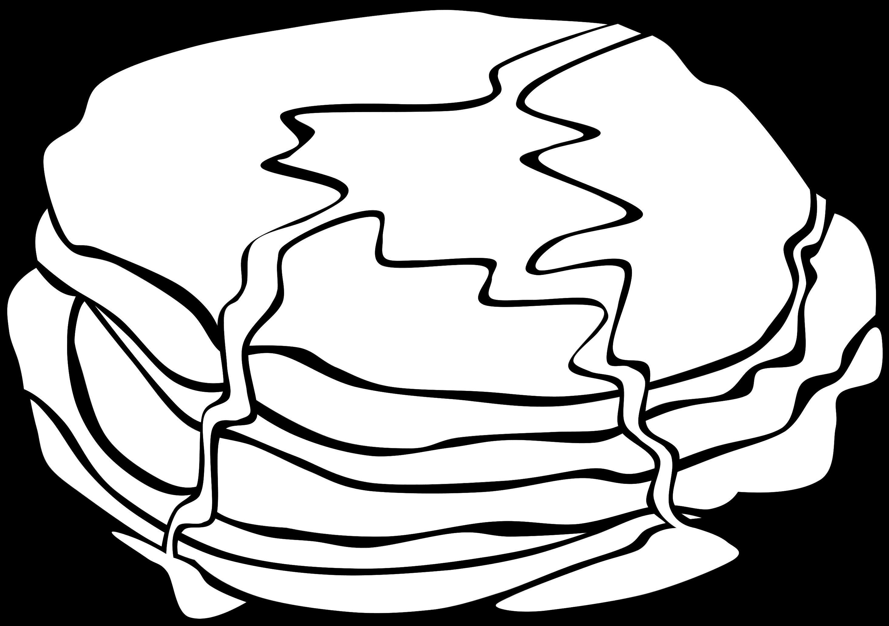 Pancakes clipart black and white jpg transparent stock Pancakes clipart black and white 2 » Clipart Station jpg transparent stock