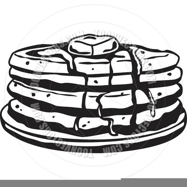 Pancakes clipart black and white free stock Black And White Pancake Clipart | Free Images at Clker.com ... free stock