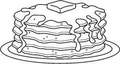 Pancakes clipart black and white graphic black and white Pancakes clipart black and white » Clipart Station graphic black and white