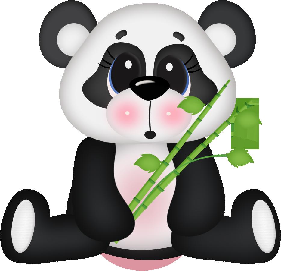 Panda bear halloween clipart banner transparent download Photo by @daniellemoraesfalcao - Minus | animal 2 | Pinterest ... banner transparent download