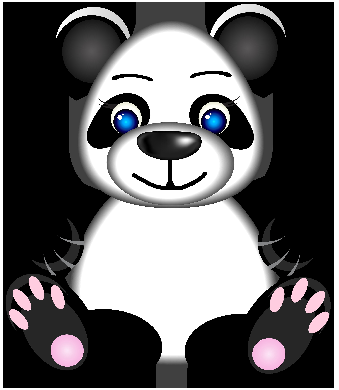 Panda bear halloween clipart clipart royalty free stock Panda PNG Clip Art Image | Gallery Yopriceville - High-Quality ... clipart royalty free stock