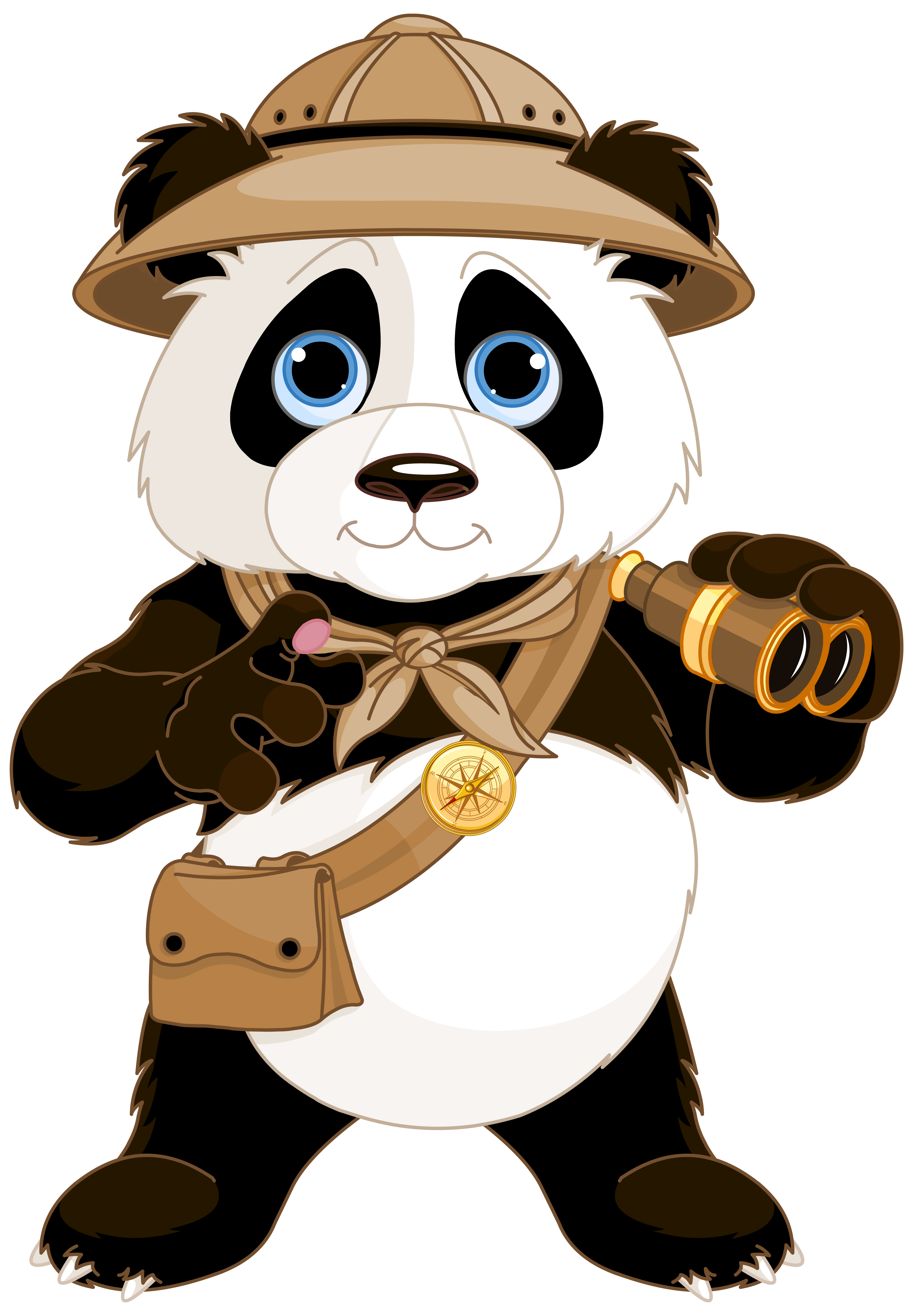 Panda bear halloween clipart picture library library Cute Panda PNG Clipart Image | Gallery Yopriceville - High-Quality ... picture library library