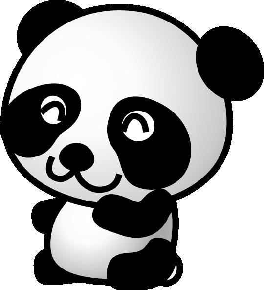 Panda bear halloween clipart png royalty free panda cartoon | Panda 7 clip art - vector clip art online, royalty ... png royalty free
