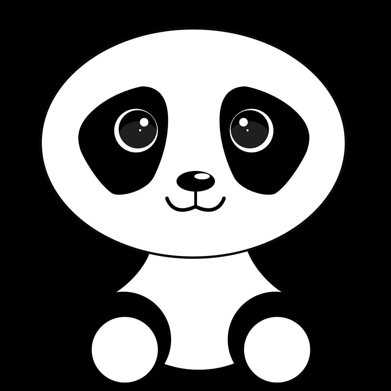 Panda bear halloween clipart graphic transparent Free Image on Pixabay - Bear, Panda Bear, Panda, Animals | Pinterest ... graphic transparent