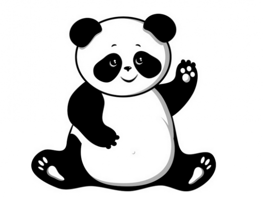 Panda clipart image black and white download Panda Clipart | Clipart Panda - Free Clipart Images image black and white download