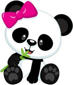 Panda clipart image black and white stock CLIPART PANDA EATING BAMBOO | Royalty free vector design ... image black and white stock