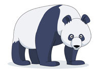 Panda clipart banner free library Free Panda Clipart - Clip Art Pictures - Graphics - Illustrations banner free library
